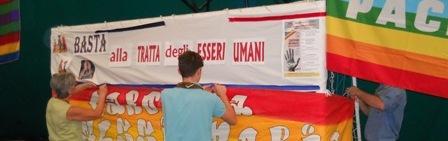 Carovana della pace a Caserta