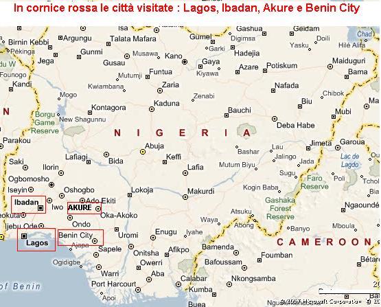 MAPPA NIGERIA