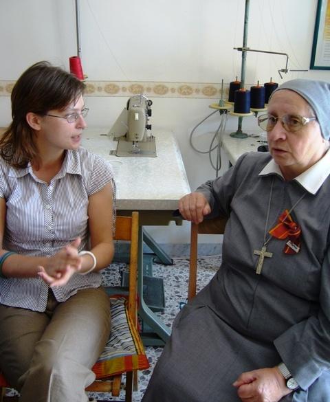 Mirela e Sr Eugenia Bonetti