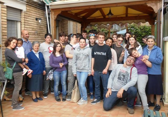 5 maggio studenti in gita da Vicenza