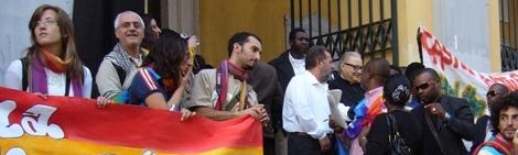 La Carovana della Pace fa tappa a Caserta
