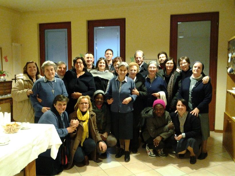 gruppo in festa a Breganze