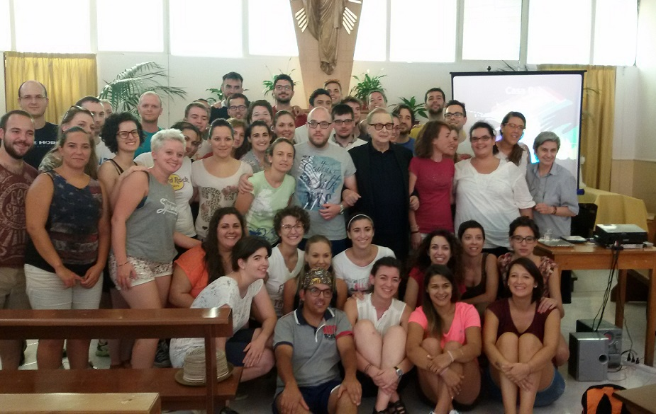 Foto di gruppo Azione Cattolica Vicenza