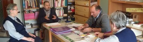 Visita di Don Alessandro Santoro in Casa Rut