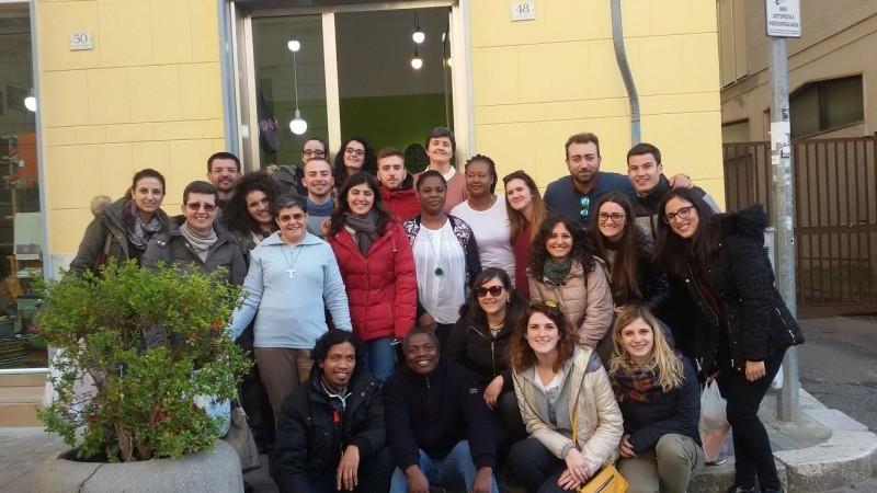 Marzo 2017 Un gruppo di giovani del SUAM Campania