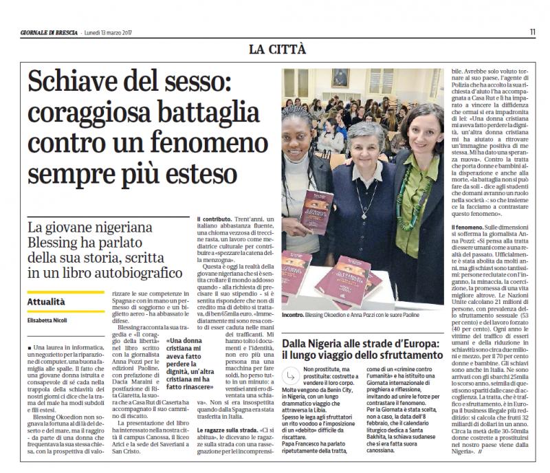 13 Marzo 2017 Giornale di Brescia