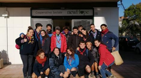 Gruppo Scout Napoli 2 in visita